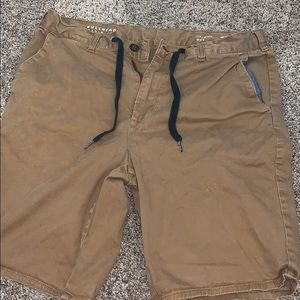Bullhead Shorts - KHAKI PREPPY SUMMER SHORTS